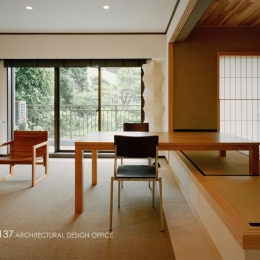 R10渋谷Tさんの家 (リビング)