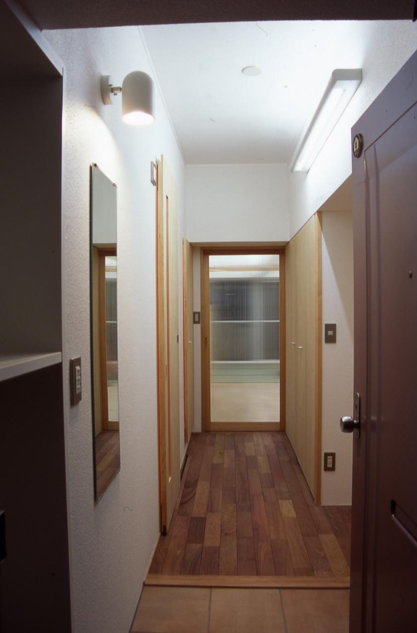 大阪の畳間のあるマンション リノベーションの写真 玄関