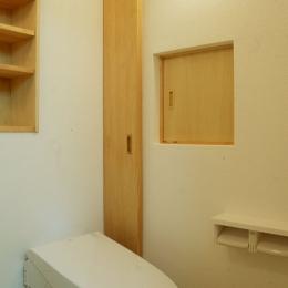 大阪の畳間のあるマンション リノベーション (トイレ)