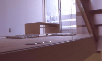 大阪のミニクーパーな家|ミニクーパーのように小さくて高性能でスタイリッシュな家 (階段)