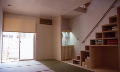 大阪のミニクーパーな家|ミニクーパーのように小さくて高性能でスタイリッシュな家 (和室)