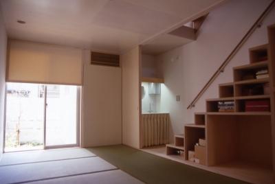 和室 (大阪のミニクーパーな家|ミニクーパーのように小さくて高性能でスタイリッシュな家)