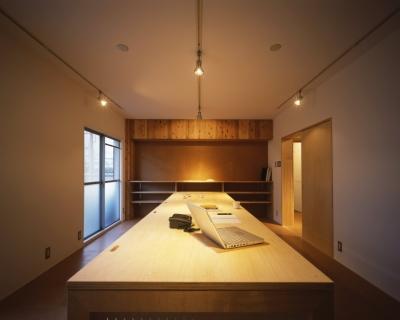 オフィススペース (長岡京の団地SOHO|昭和40年代の団地をSOHOにリノベーション)