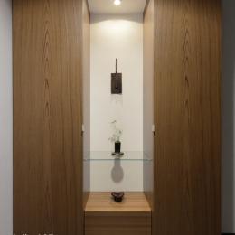 R10渋谷Tさんの家 (玄関)