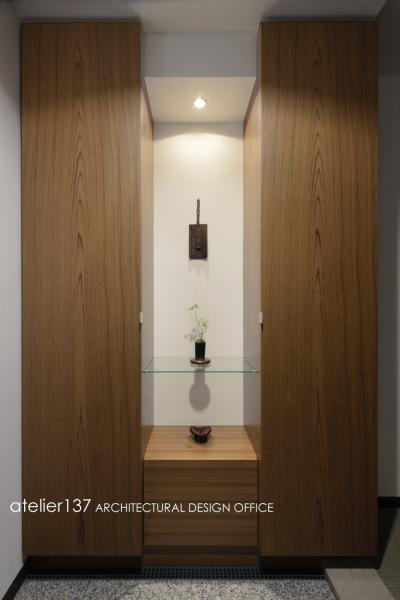 玄関 (R10渋谷Tさんの家)