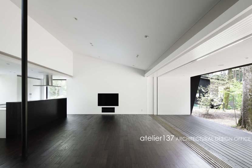 018軽井沢Cさんの家の写真 リビング