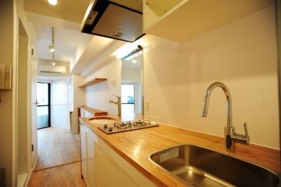 キッチン (高田馬場1Rマンション)