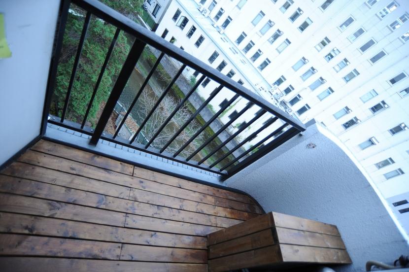高田馬場1Rマンションの部屋 ベランダ