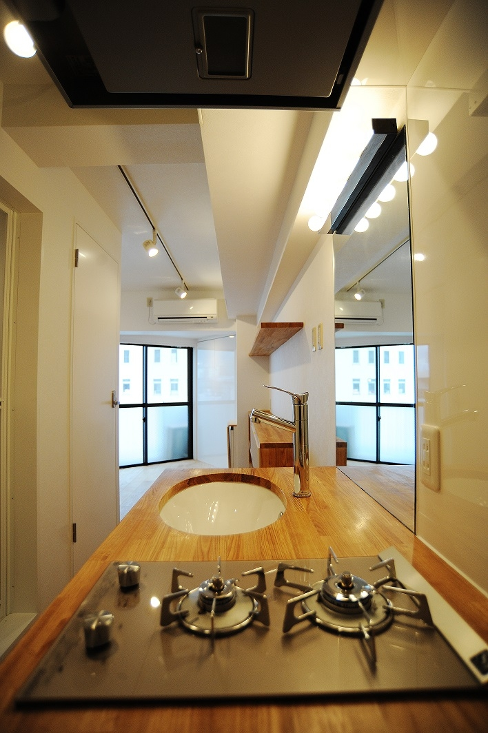 高田馬場1Rマンションの写真 キッチン2