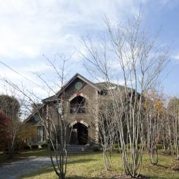 大屋根の家-外観