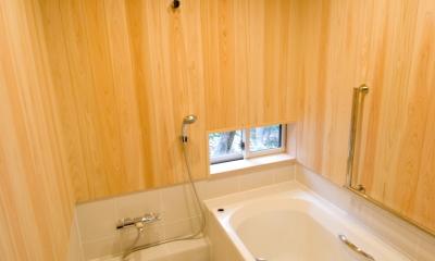 お風呂|大きな柿の木とおばあちゃんの家