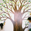 大きな木の絵