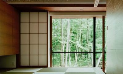 015軽井沢Tさんの家 (和室)