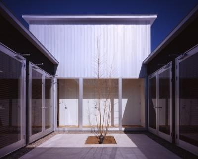 中庭 (上尾の家~神殿型中庭住宅)