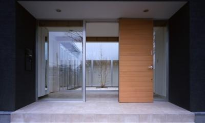 玄関|上尾の家~神殿型中庭住宅