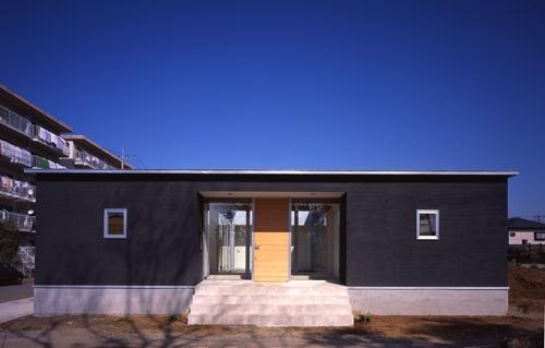 上尾の家~神殿型中庭住宅の部屋 外観