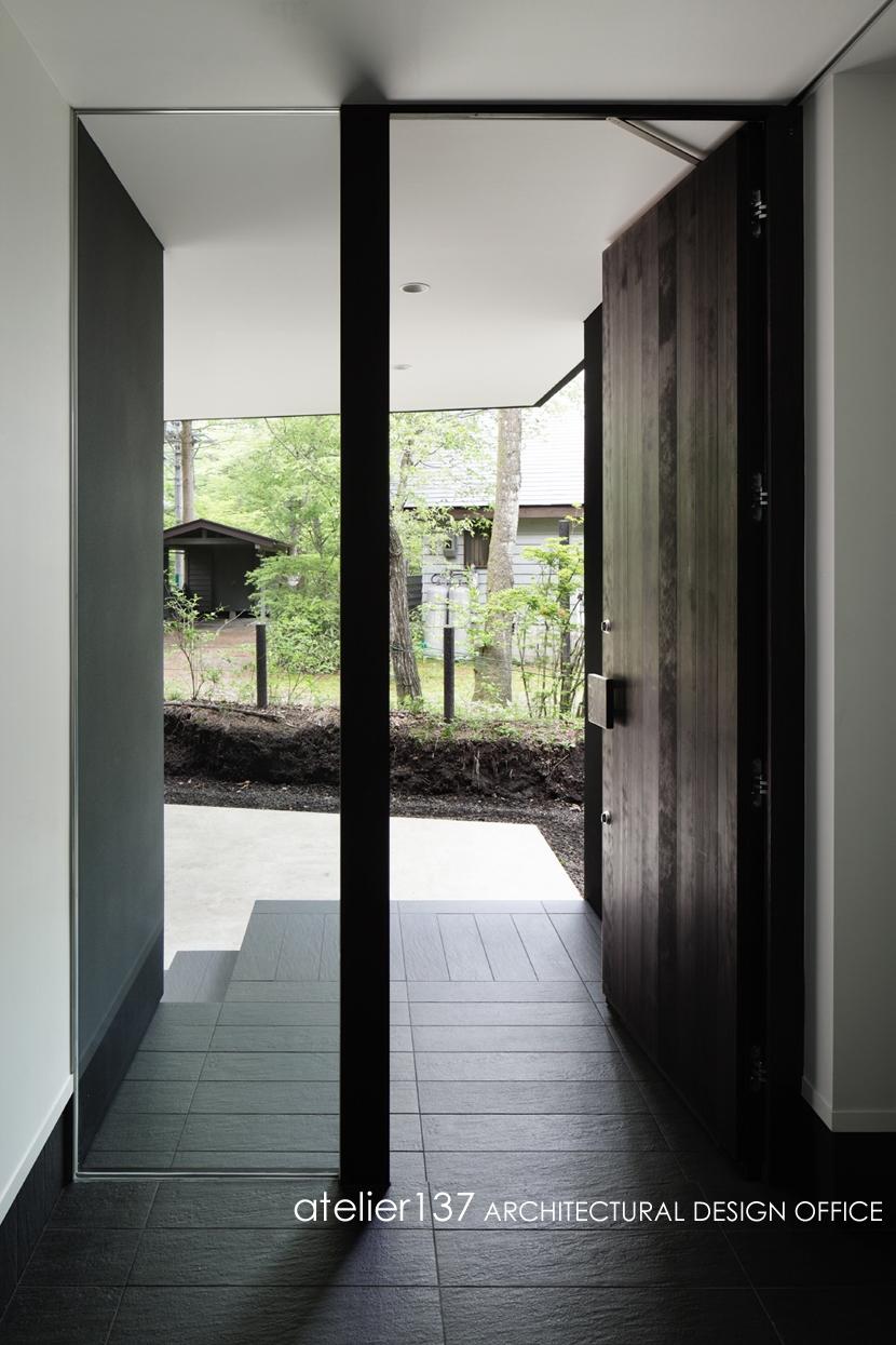 018軽井沢Cさんの家の部屋 玄関