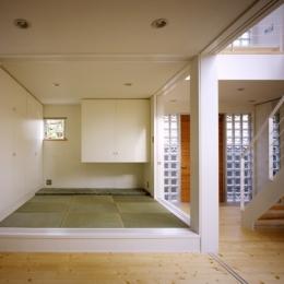 町田の家~外のように明るい家 (和室)