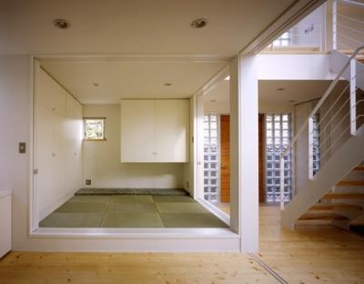 和室 (町田の家~外のように明るい家)