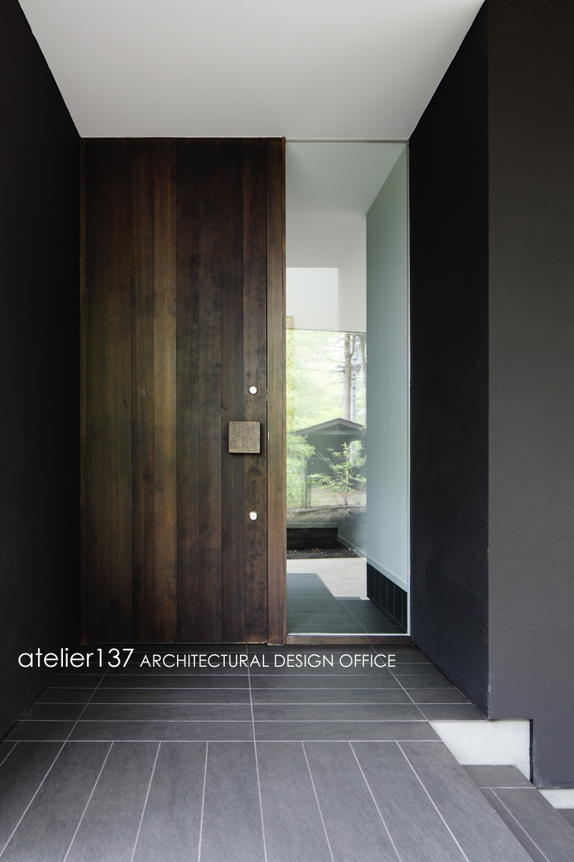 018軽井沢Cさんの家の部屋 玄関ポーチ