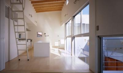 相模原の家~中庭型二世帯住宅 (子世帯LDK1)
