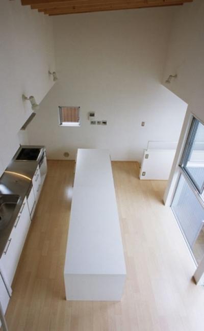 相模原の家~中庭型二世帯住宅 (LDK2)