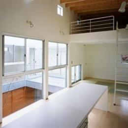 相模原の家~中庭型二世帯住宅 (DK)