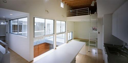 相模原の家~中庭型二世帯住宅の部屋 DK