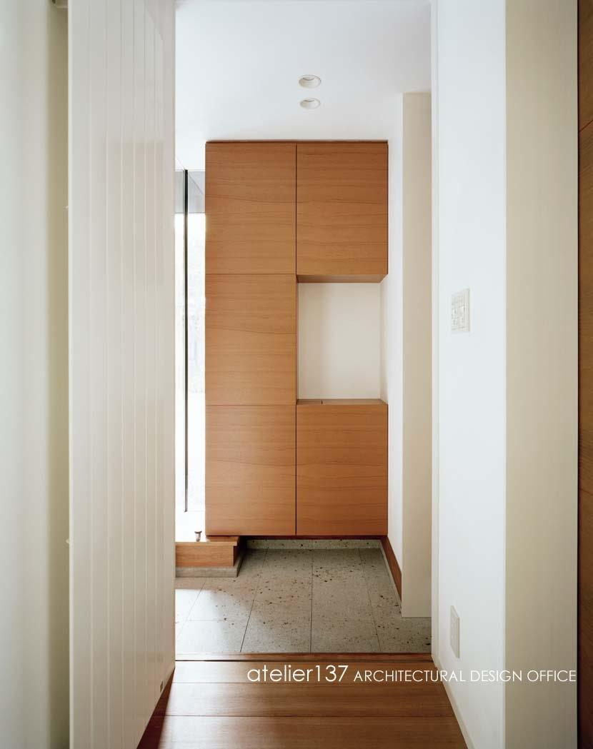 015軽井沢Tさんの家の部屋 玄関