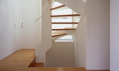 東村山の家~ベルトルーバーの家 (階段)
