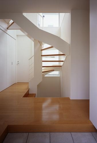 東村山の家~ベルトルーバーの家の部屋 階段