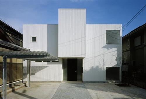 下石神井の家Ⅱ~吹抜け+スキップフロアの家 (外観)