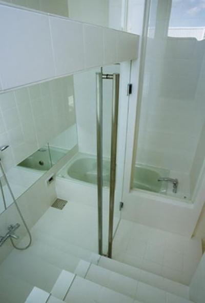 浴室 (下石神井の家Ⅱ~吹抜け+スキップフロアの家)