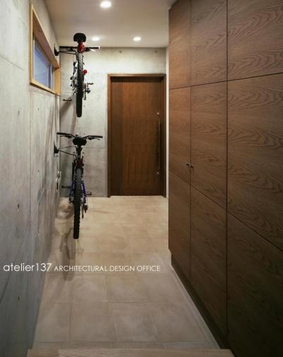 玄関 (011船橋Kさんの家)
