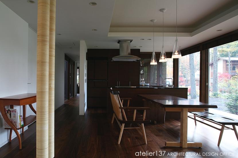 006軽井沢Kさんの家の部屋 キッチン