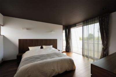 寝室 (フキの家)