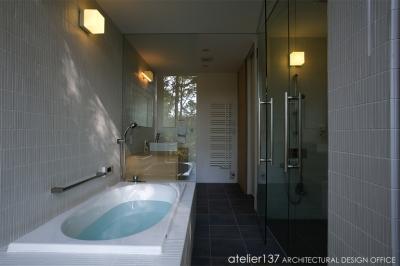 バスルーム (010軽井沢Tさんの家)