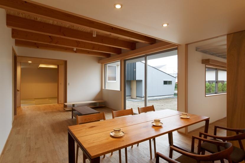 秋田の田舎の家の部屋 リビング