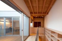 足立のわんルーム (2階の縁側)