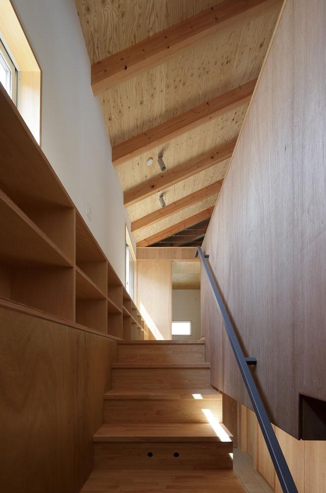鎌倉の倉の部屋 階段
