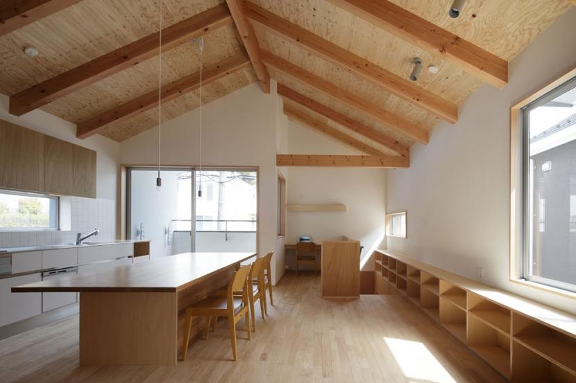 鎌倉の倉の部屋 リビング