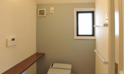 用賀の家改修 (脱衣室・トイレ)