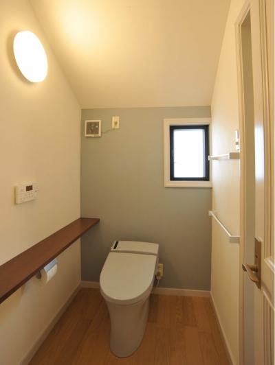 脱衣室・トイレ (用賀の家改修)