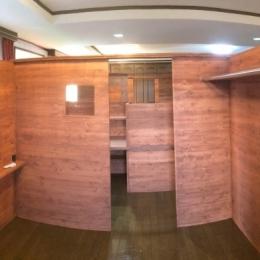 リフォーム・リノベーション(自由な子供室へ/Kenさんの家) (個々の占有スペース)