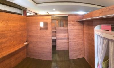個々の占有スペース|リフォーム・リノベーション(自由な子供室へ/Kenさんの家)