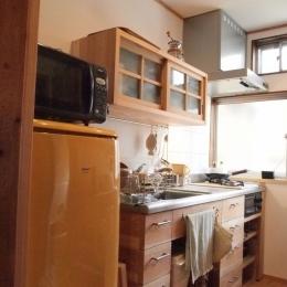 コンパクトキッチン (Y2I邸)