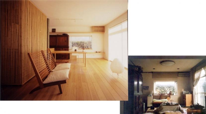 リフォーム・リノベーション(老後を見据えて自宅の一部を改修)の部屋 食べる、飲む、料理する事を楽しむ為のリフォーム