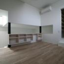 アトリエのあるスキップフロアの家 OUCHI-03の写真 寝室