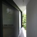 アトリエのあるスキップフロアの家 OUCHI-03の写真 ベランダ