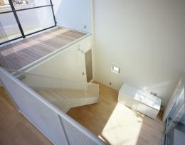 栗橋の家~中庭+吹抜け+ルーフバルコニーの家 (LDK3)